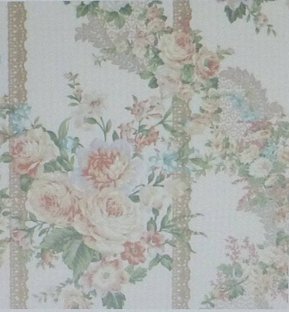 Rose Perfume Floralcotton Fabric Quilt Home