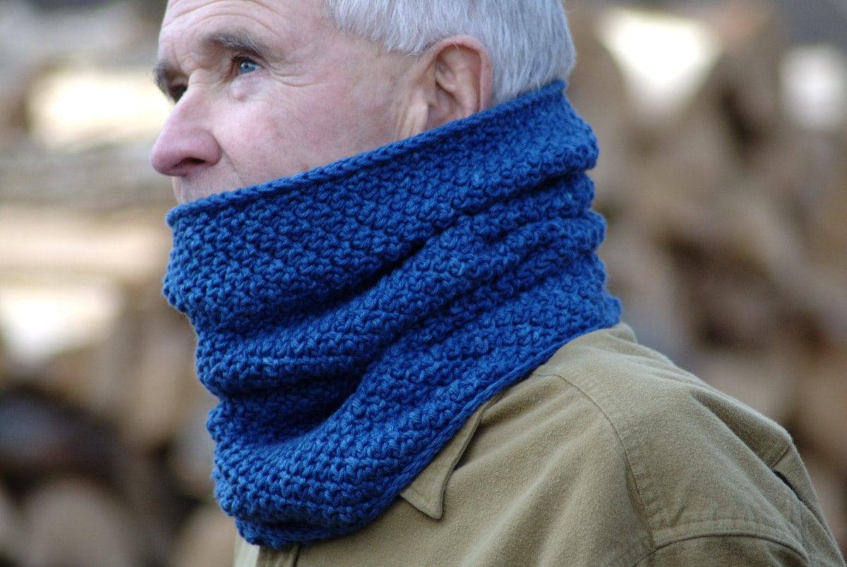 Crochet pattern mens cowl pattern crochet cowl scarf pattern crochet pattern mens cowl pattern crochet cowl scarf pattern mens neck warmer pattern winter view cowl p136 bankloansurffo Gallery