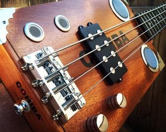Cigar Box Bass's by Funguy Mojo Guitars