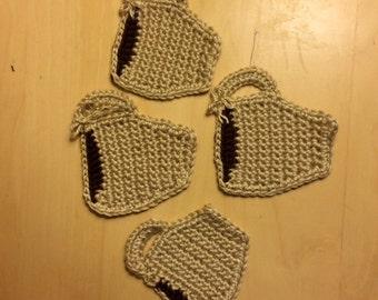 Crochet Coffee-cup Coasters