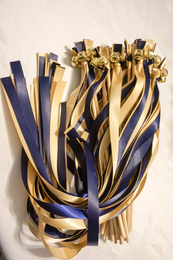 150 Ribbon Bell Wands ~ Wedding Ceremony ~ Send off Bells ~Wedding