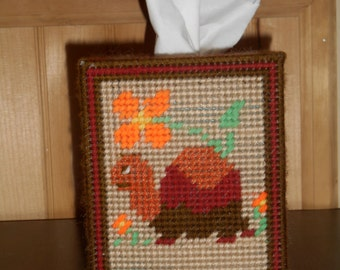 Timmy the Turtle Tissue Box Cover