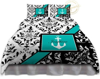nautical duvet cover | etsy