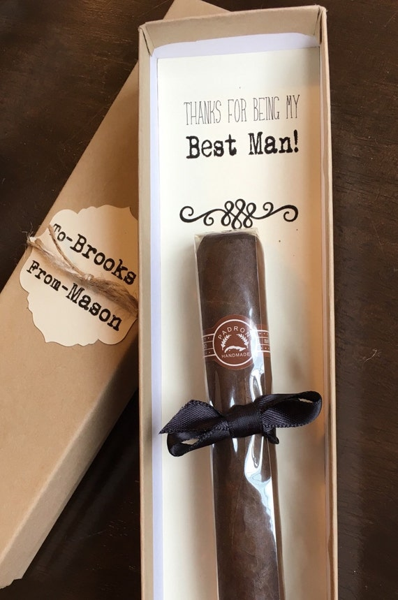 Groomsmen Cigar Box Will You Be My GroomsmanThanks For Being