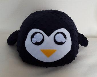 Cute Soft Penguin Pillow or Plush, Stuffed Penguin