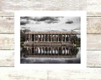 New Orleans Art Louisiana Art PERISTYLE  City Park  New Orleans Art  Fine Art Photograph  Limited Edition of 250