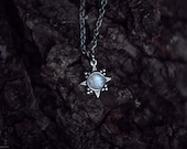 The Star Tiny Silver Plated Necklace