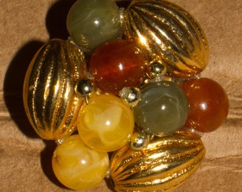 Pair of Kitsch clip on earrings