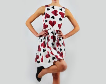 Hearts of Cards Dress