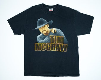 Tim McGraw Tshirt -  Tim McGraw Tour Shirt - Vintage Tim McGraw Tshirt - Country Music Tshirt