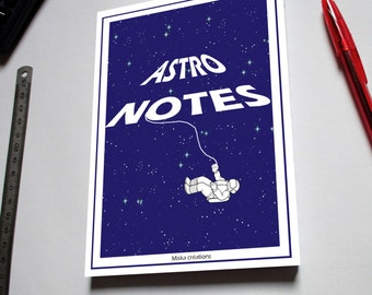 "Notepad ""Astro notes"""