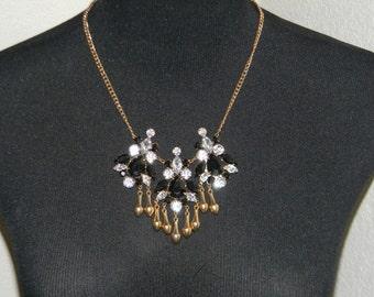 REDUCED!!  Rhinestone Necklace Formal Prom Evening Wear