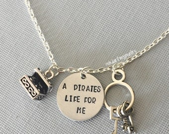 Pirates of the Caribbean Inspired Necklace
