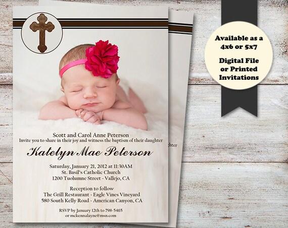 baptism announcements