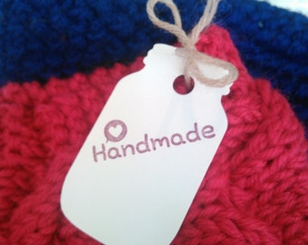 Handmade Sales Tag Set (25) + Mason Jar + Boutique + Shabby Chic + Cute + antique store + vintage + vintage style + display tags + craft tag
