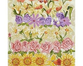 SOLD: Remaining Balance For Botanical Alice Painting