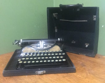 vintage corona typewriter 1920s, CORONA