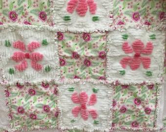 Baby quilt rag quilt