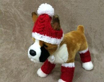 Dog Leg Warmers Knitting Pattern : Leg warmers for dogs Etsy