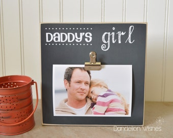 Picture Frame Dad Gift  {Daddy's Girl}  Custom Photo Frame, Personalized Gift For Dad, Father's Day Gift Idea, Gift For Dad's Birthday