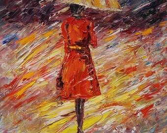 Walking in The Rain -Pen King-A945