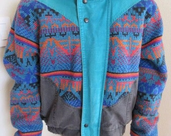 "Vintage 1980's David James Jacket MADE IN USA - Mens Chest 50"" - Lovely!!"