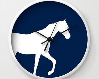 Horse Clock, Horse Wall Decor, Horse Decor, Horse lover gift