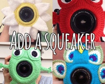 Add a squeaker to any buddy, Only squeaker-Not a camera buddy
