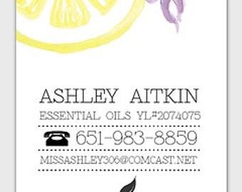 Custom Business Card Listing