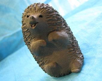 1970s Danish Studio Pottery Figurine Hedgehog Ellen Karlsen Design Denmark – Scandinavian Modern Denmark – Mid Century – Cute