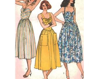 Simplicity Sewing Pattern 6942 Misses' Dress adjustable for Petite  Size:  14  Uncut