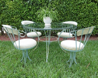 Mid Century Patio Chairs Wrought Iron Patio Furniture Dallas  Roselawnlutheran