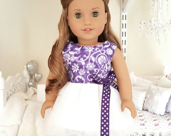 18 inch doll party dress
