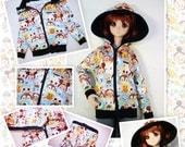 BJD kawaii cartoon jacket hoodie