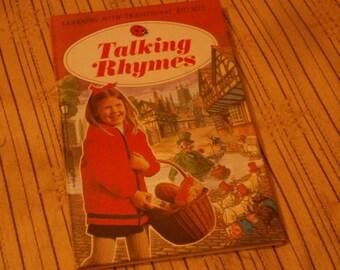 Vintage Ladybird Book - Talking Rhymes, series 702