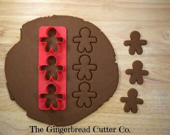 Gingerbread Man Mini Cookie Cutter Stick
