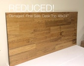 "Desk, Desk Top, Wood Desk Top, Table Top 48x24"".  REDUCED! Sold ""As-is"" - Please read full item details. FINAL SALE!"