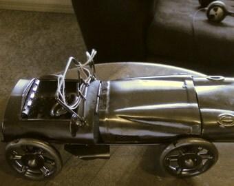 Vintage, Silver, Miniature Car