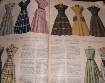 SALE~1954 Montgomery Ward catalogue Spring/Summer  ~