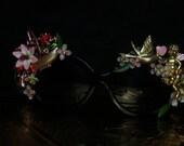 Baroque Incredible Cherub Dove Unusual Fancy Sunglasses Eye Wear