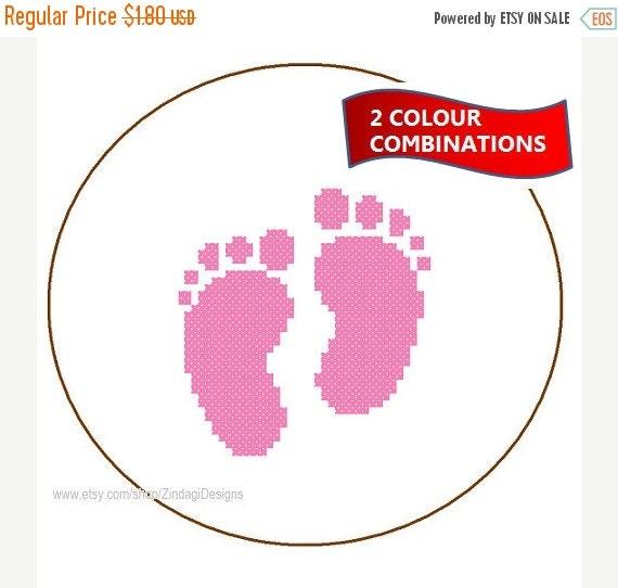 spring sale instant download baby foot prints by. Black Bedroom Furniture Sets. Home Design Ideas
