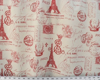 FRENCH RED SALE >>>Custom made Drapes