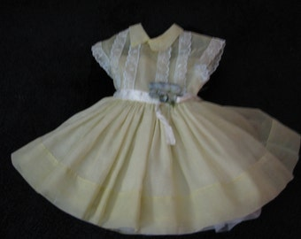 Shirley Temple 19 in. original 1950's Ideal doll dress