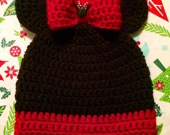 Minnie Scalloped Hat
