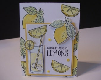 Lemonade Card  --All Occasion