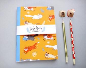 Cats Sketchbook / Notebook / Journal / A5 / A6