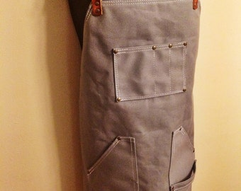 Handcrafted Heavy Duty Canvas Apron