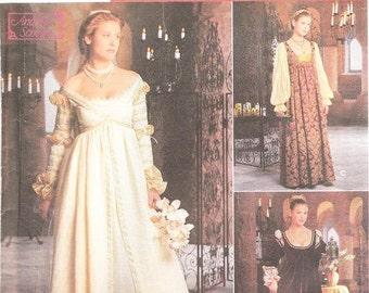 Simplicity 8735 Misses' Renaissance Costume Pattern