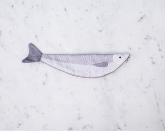 SARDINE - Case fish - 100% cotton (26 x 6, 5 cm)