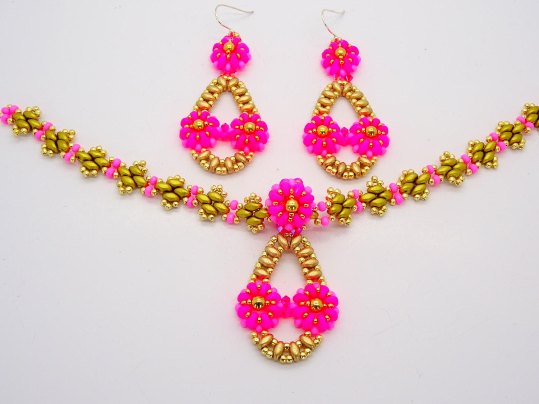 daisy chain bracelet instructions